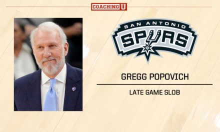 PLAYBOOK: Gregg Popovich – San Antonio Spurs – Late Game SLOB