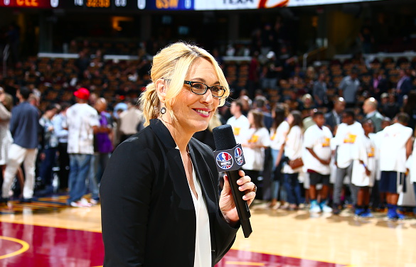 Doris Burke, NBA Analyst and Reporter for ESPN and ABC