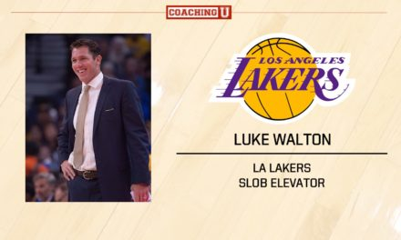 Playbook: Luke Walton – LA Lakers – SLOB Elevator