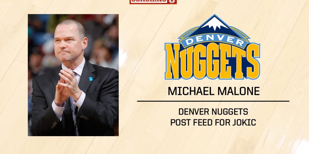Playbook: Mike Malone – Denver Nuggets – Post Feed