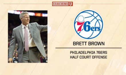 Playbook: Brett Brown – Philadelphia 76ers – Half Court Offense