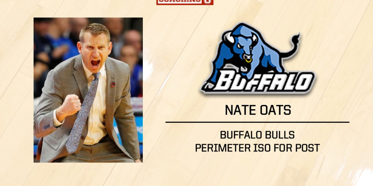 Playbook: Nate Oats – Buffalo Bulls – Perimeter ISO for Post