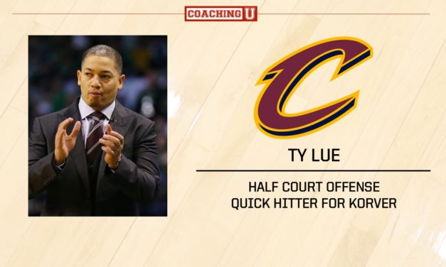 Playbook: Ty Lue – Cleveland Cavaliers – Quick Hitter for Korver