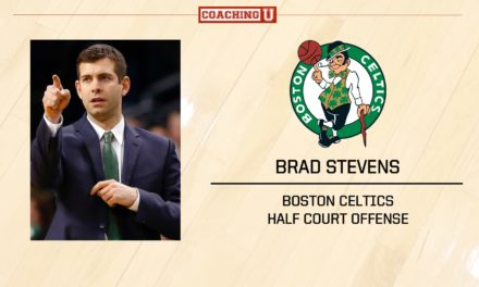 Playbook: Brad Stevens – Boston Celtics – Half Court Offense