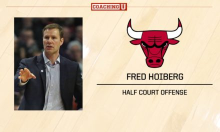 Playbook: Fred Hoiberg – Chicago Bulls – Half Court Offense – Wide Pindown to Curls