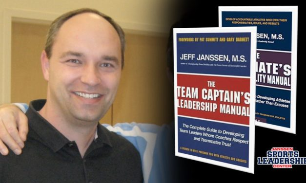 Jeff Janssen, Founder & President of Janssen Sports Leadership Center