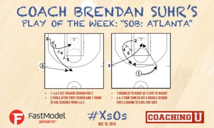 "Coach Brendan Suhr's Play of the Week: ""Atlanta"""