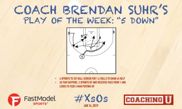 "Coach Brendan Suhr's Play of the Week: ""5 Down"""