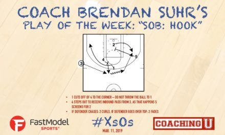 "Coach Brendan Suhr's Play of the Week: ""Hook"""