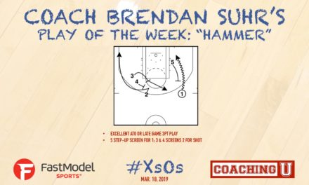 "Coach Brendan Suhr's Play of the Week: ""Hammer"""