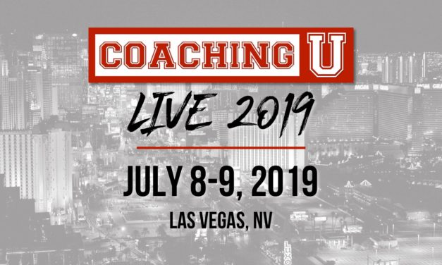 Coaching U Live 2019 Dates Announced!