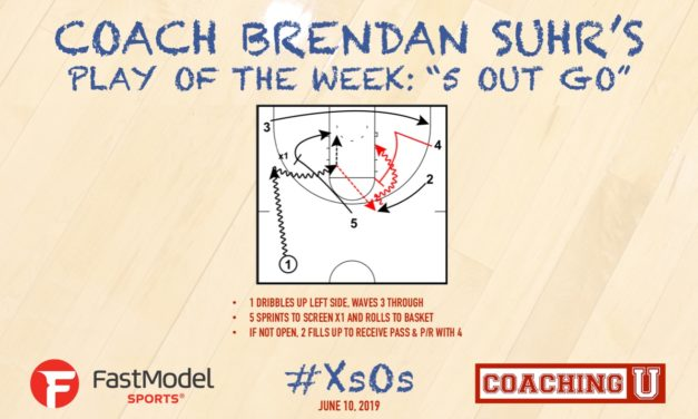 "Coach Brendan Suhr's Play of the Week: ""5 Out Go"""