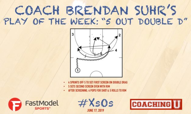 """Coach Brendan Suhr's Play of the Week: """"5 Out Double D"""""""