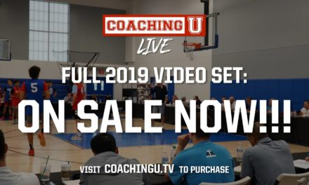 Coaching U Live 2019 Videos Available Now!
