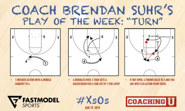 "Coach Brendan Suhr's Play of the Week: ""Turn"""
