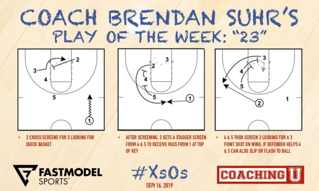 """Coach Brendan Suhr's Play of the Week: """"23"""""""