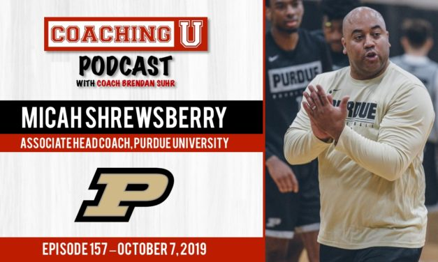 Micah Shrewsberry, Purdue Boilermakers Assoc. Head Coach