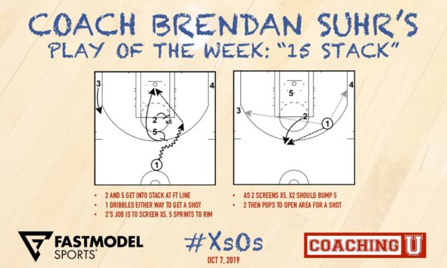 "Coach Brendan Suhr's Play of the Week: ""15 Stack"""