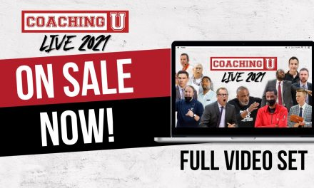 Coaching U Live 2021 Videos Now Available!