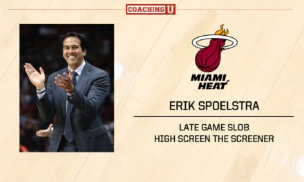 PLAYBOOK: Erik Spoelstra – Miami Heat – Late Game SLOB