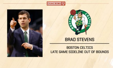 Playbook: Brad Stevens – Boston Celtics – Sideline Out of Bounds