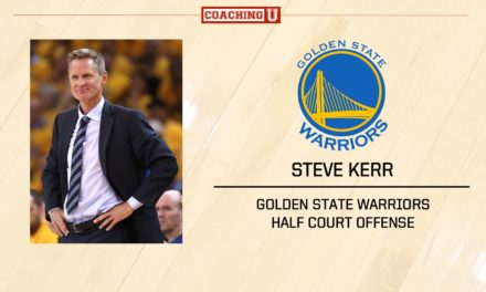 Playbook: Steve Kerr – Golden State Warriors – Half Court Offense