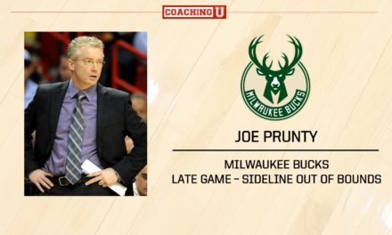 Playbook: Joe Prunty – Milwaukee Bucks – Sideline Out of Bounds