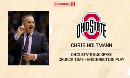 Playbook: Chris Holtmann – Ohio State Buckeyes – Misdirection