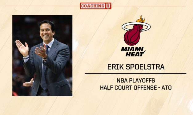 Playbook: Erik Spoelstra – Miami Heat – After Time Out
