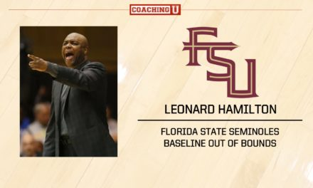 Playbook: Leonard Hamilton – Florida State – Baseline Out of Bounds