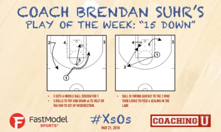 "Coach Brendan Suhr's Play Of The Week: ""15 Down"""