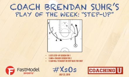 """Coach Brendan Suhr's Play Of The Week: """"Step Up"""""""
