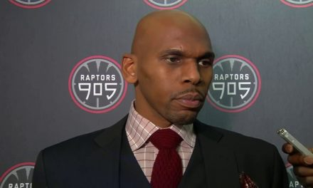 Jerry Stackhouse, D-League Champion Toronto Raptors 905 Head Coach