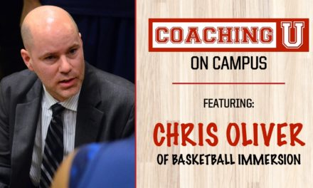Chris Oliver, Intro to Coaching U On Campus