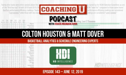 Colton Houston & Matt Dover, Basketball Analytics & Schedule Engineering Experts