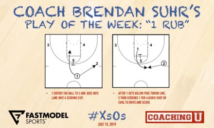 "Coach Brendan Suhr's Play of the Week: ""1 Rub"""