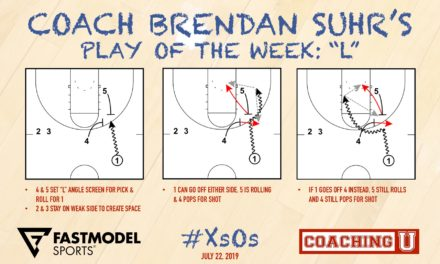 """Coach Brendan Suhr's Play of the Week: """"L"""""""