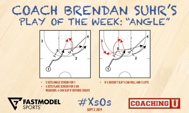 """Coach Brendan Suhr's Play of the Week: """"Angle"""""""